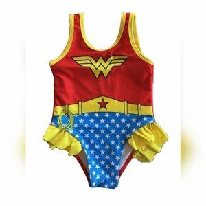 Wonder Woman swimsuit, 2T